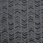 ŻAKARD WISKOZOWY szary-czarny nk008 1mb dzianiny -50%